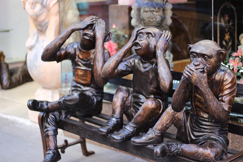 statue in Chinatown San Francisco