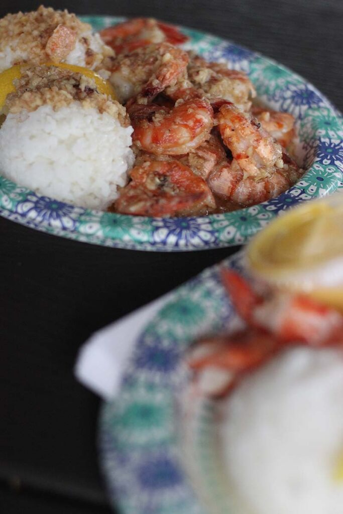 Giovanni's shrimp in Hawaii
