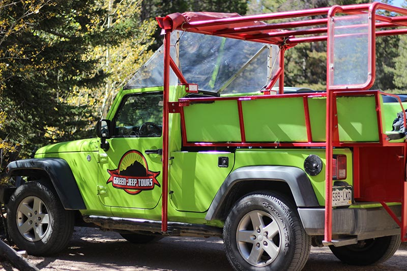 Green Jeep Tours of Rocky Mountain National Park