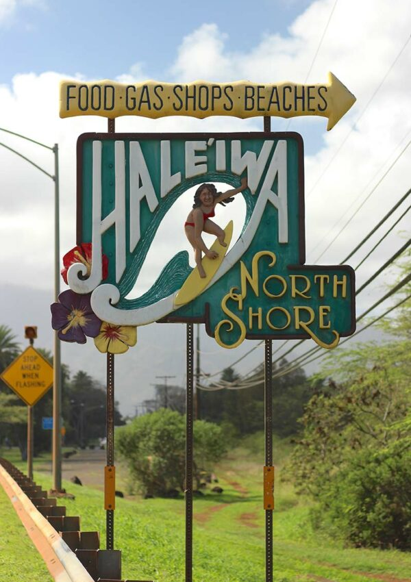 Hale'iwa sign