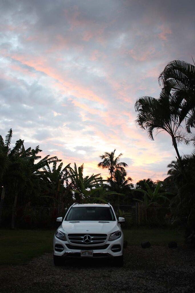Mercedes car rental