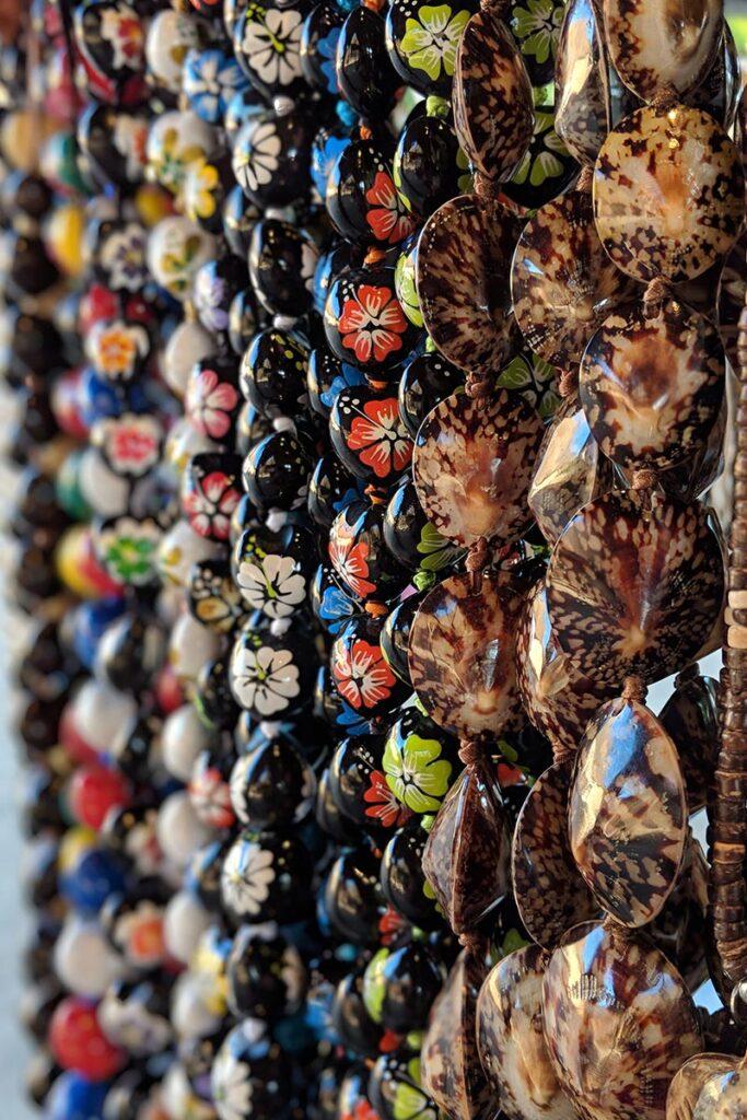 Hawaiian beaded necklaces