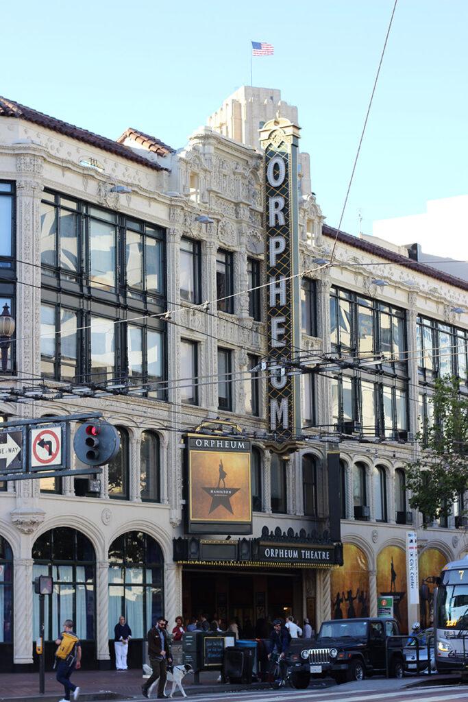 Orpheum Theater in San Francisco