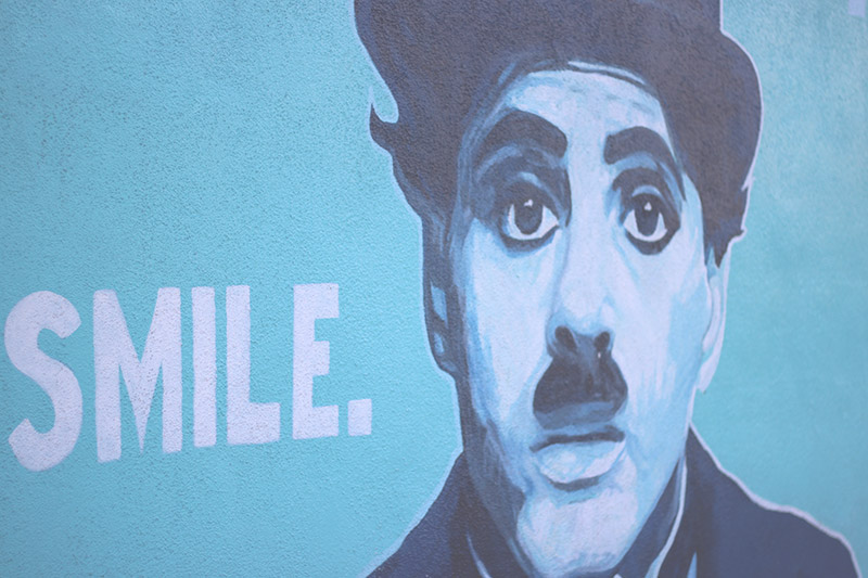 Charlie Chaplin Venice Beach artwork