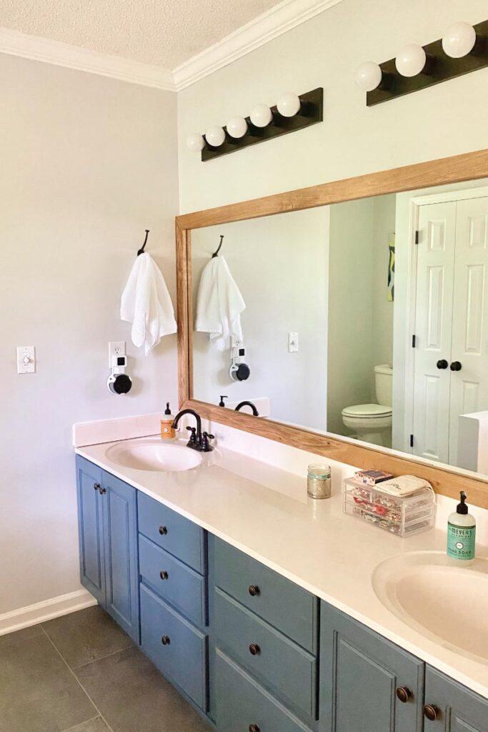 our master bathroom upgrade
