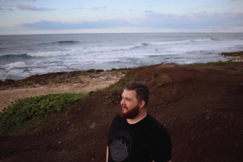 Brandon Callaway in Hawaii