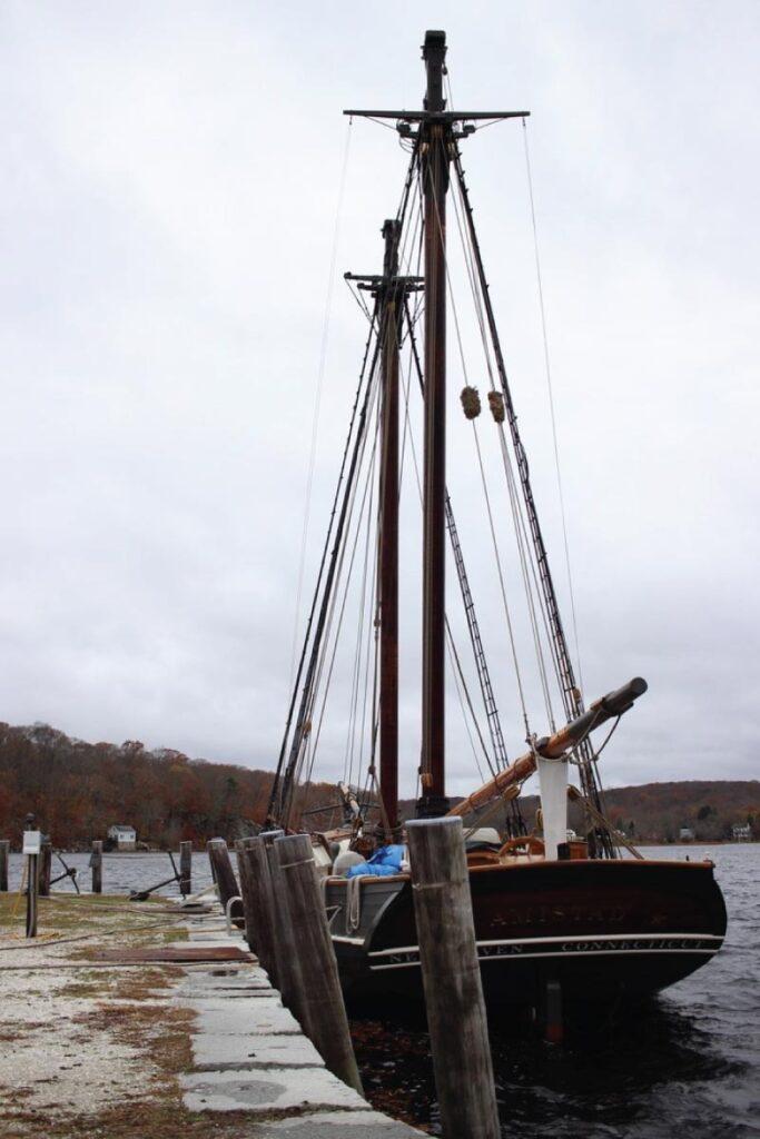 boat at Mystic Seaport Museum