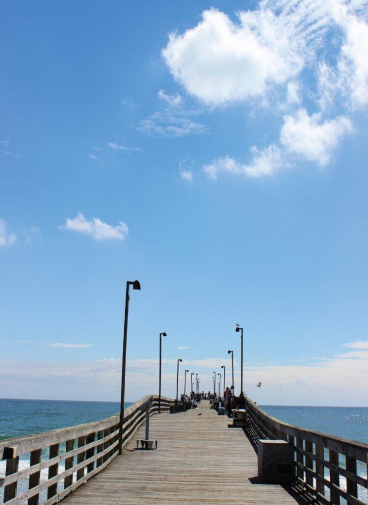 Jolly Roger Pier at Topsail Beach, NC