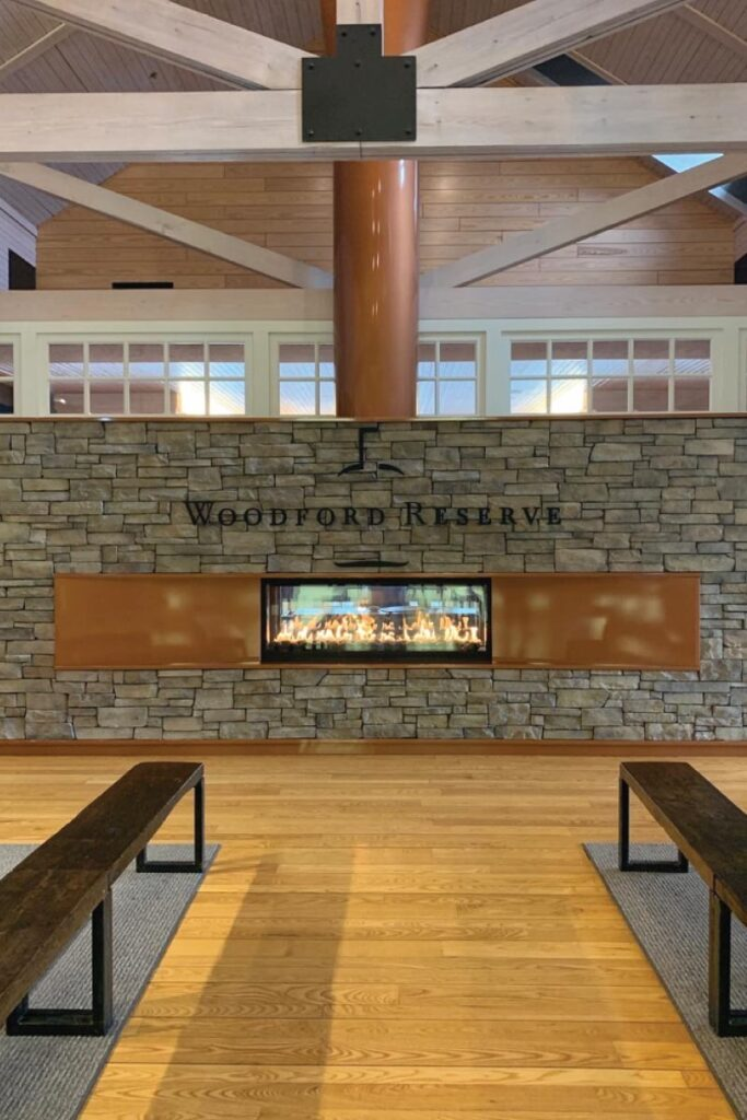 lobby at Woodford Reserve