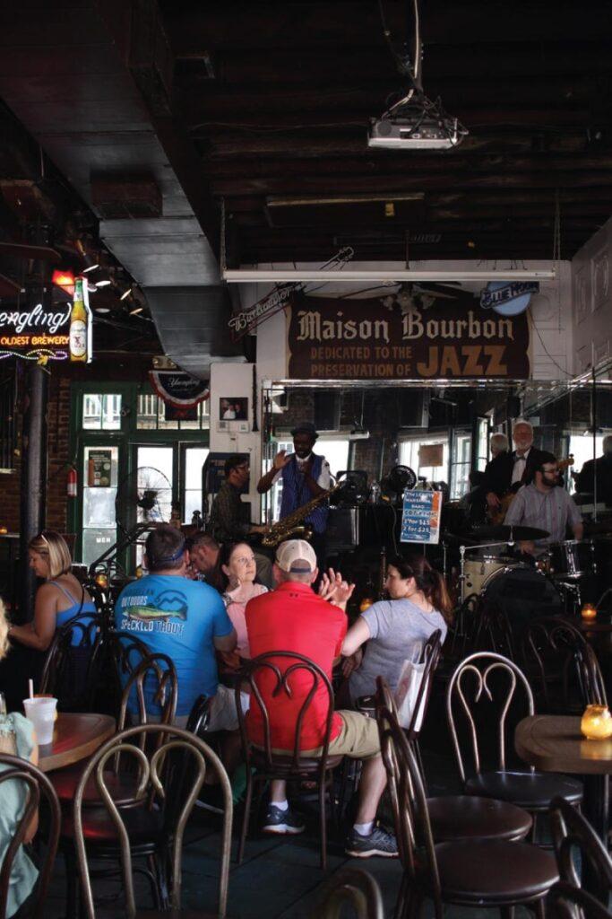 Lafitte's on Bourbon Street