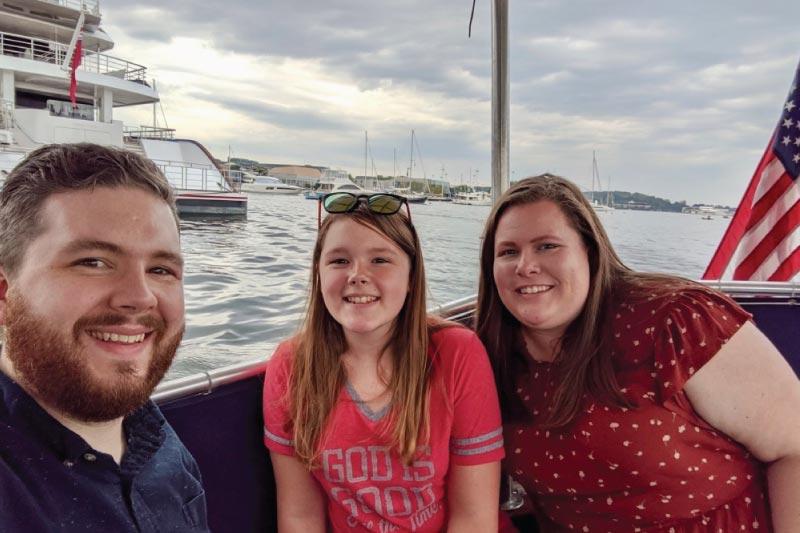 boat tour in Annapolis
