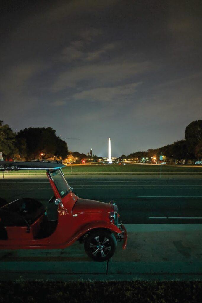 Monument tour in Washington D.C.