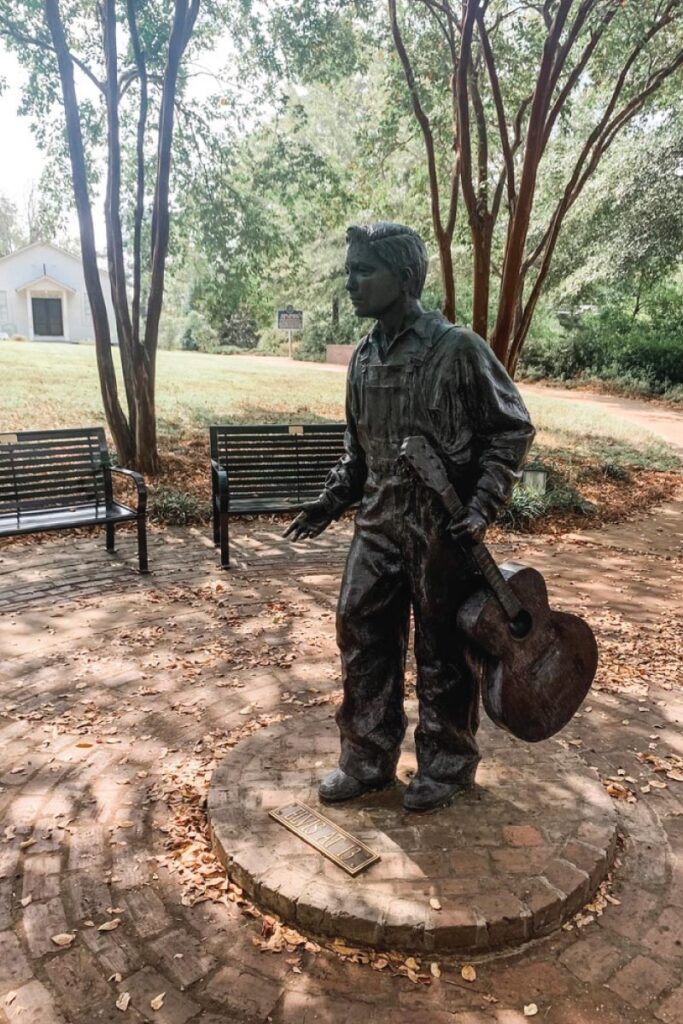 Elvis' birthplace in Tupelo, MS